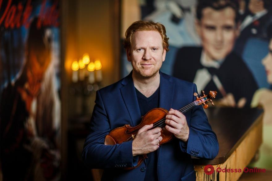 Выдающийся британский скрипач поблагодарил власти Одессы за поддержку искусства