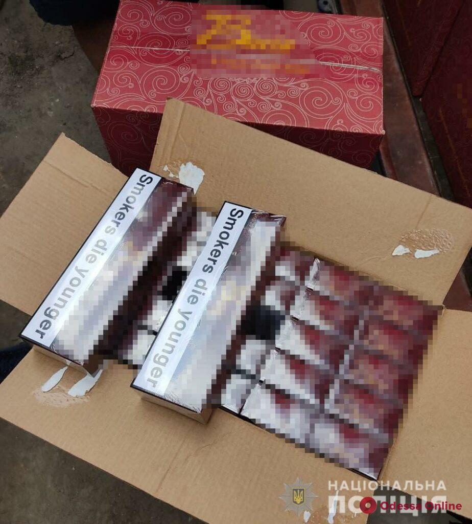 Полиция разоблачила масштабную схему ввоза контрабандных сигарет через Одесский порт