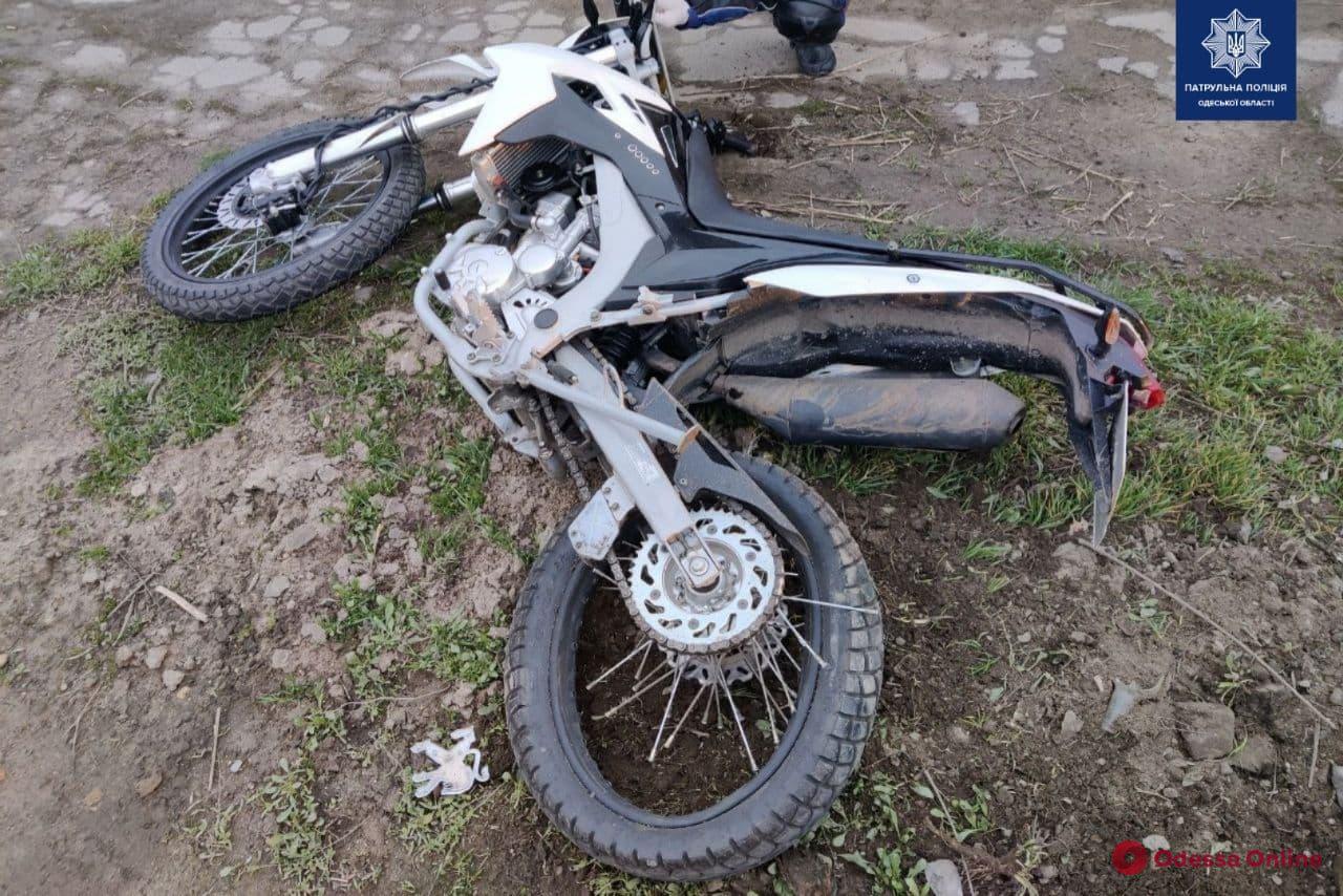 В ДТП на Николая Боровского пострадал мотоциклист