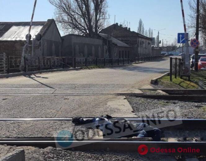 В Одессе поезд насмерть сбил мужчину (обновлено)