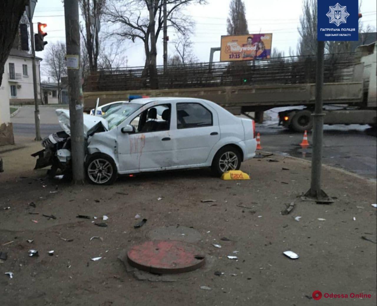 В Одессе на Пересыпи произошло ДТП с пострадавшими