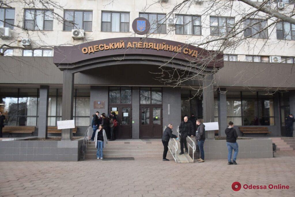 В Одесском апелляционном суде проходят обыски