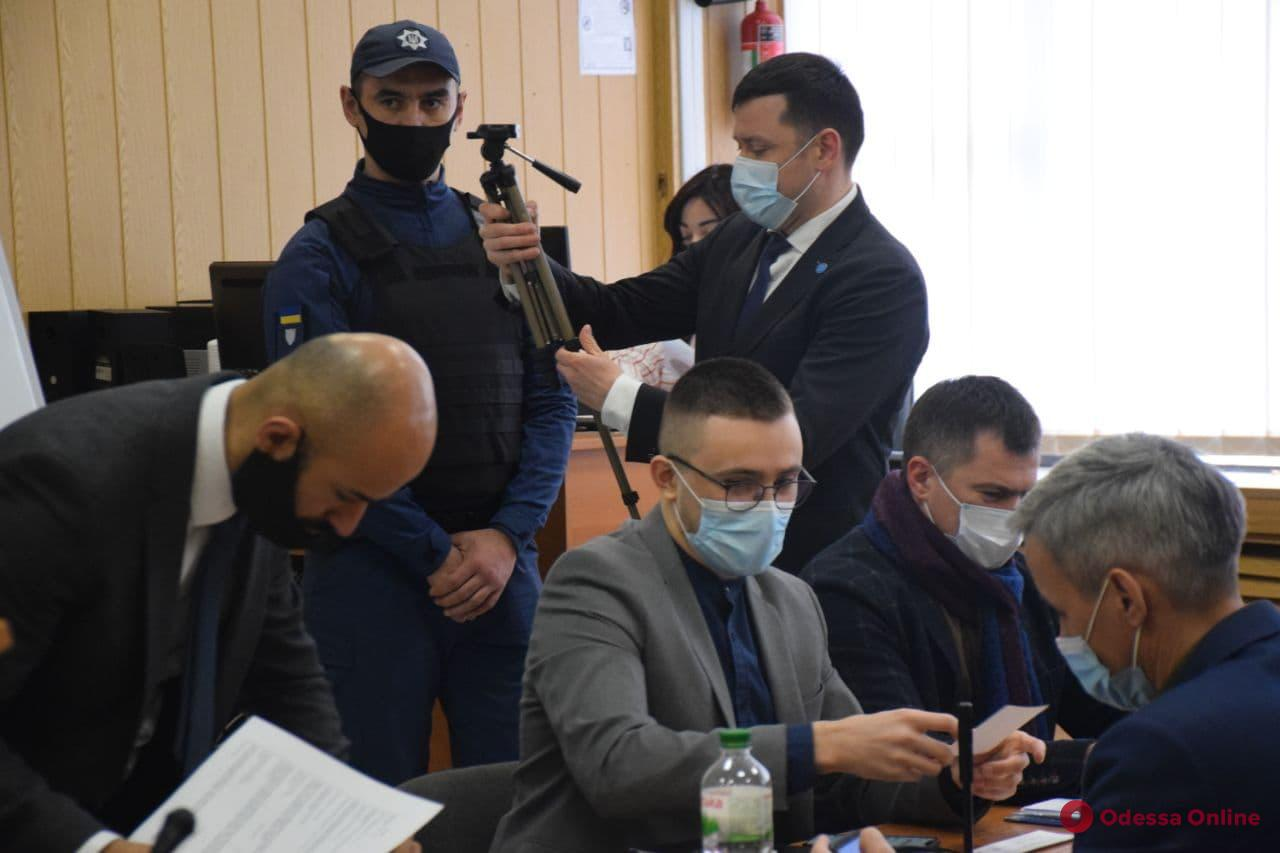 Одесский апелляционный суд приступил к рассмотрению дела Стерненко