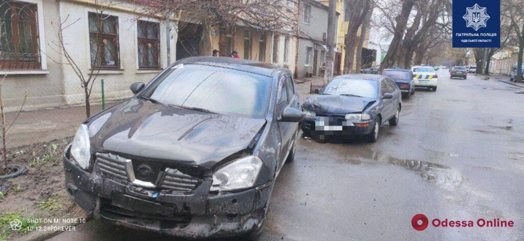 В Одессе произошло ДТП по вине пьяного водителя