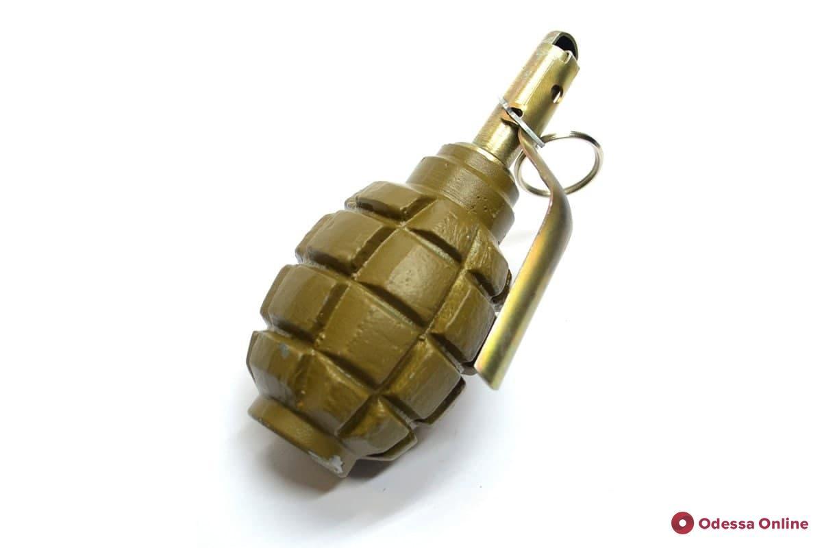 На Французском бульваре нашли боевую гранату