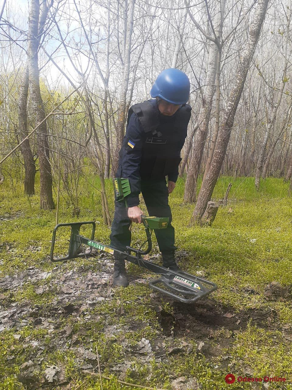 В Одесской области пиротехники уничтожили более 1 800 боеприпасов времен Второй мировой войны