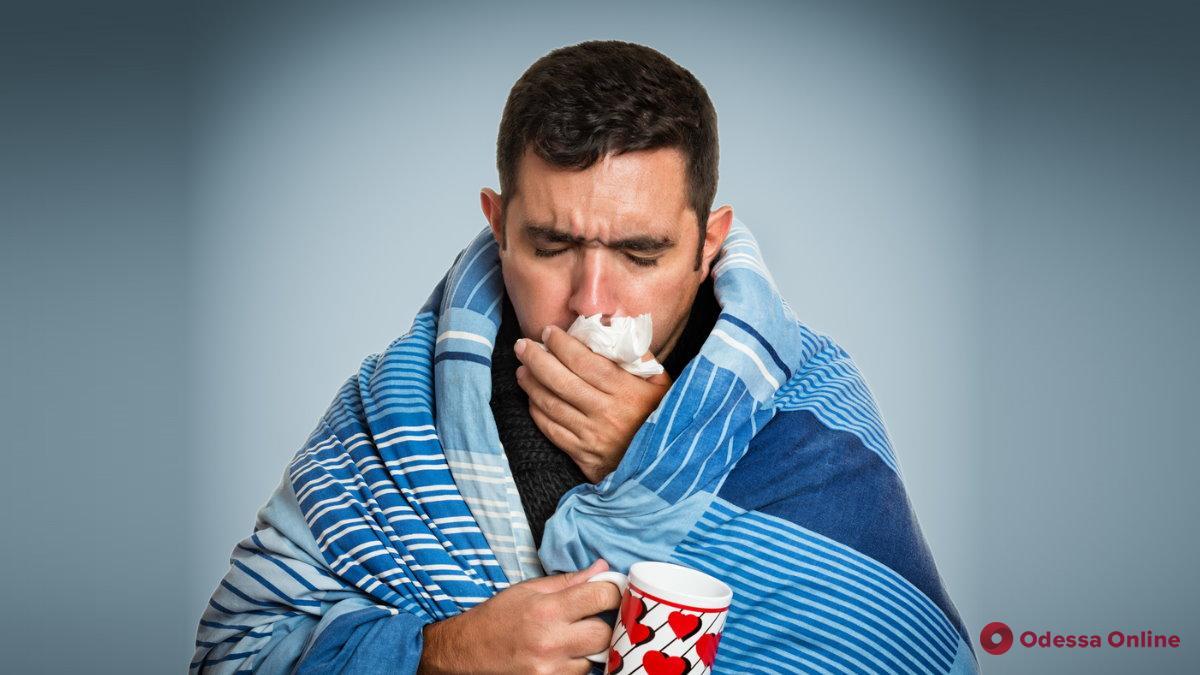 В Одессе на 12,2% снизилась заболеваемость ОРВИ и гриппом