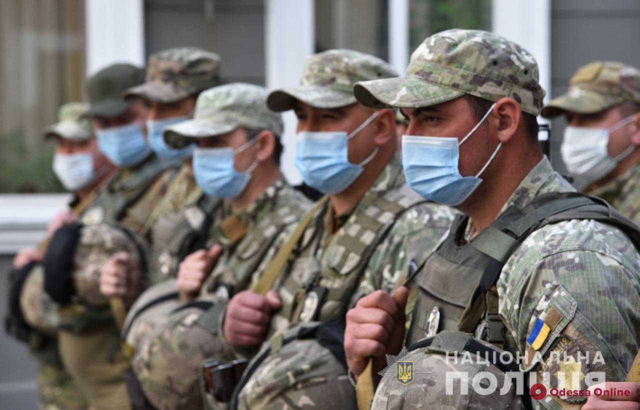 Сводный отряд одесской полиции отправился на восток Украины