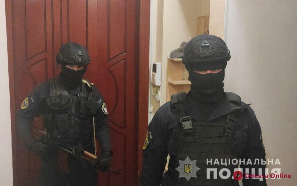 В Одессе полиция накрыла бордель (видео)