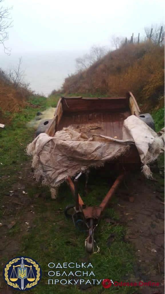 Улов на 600 тысяч: в Белгород-Днестровском районе будут судить браконьера (фото)