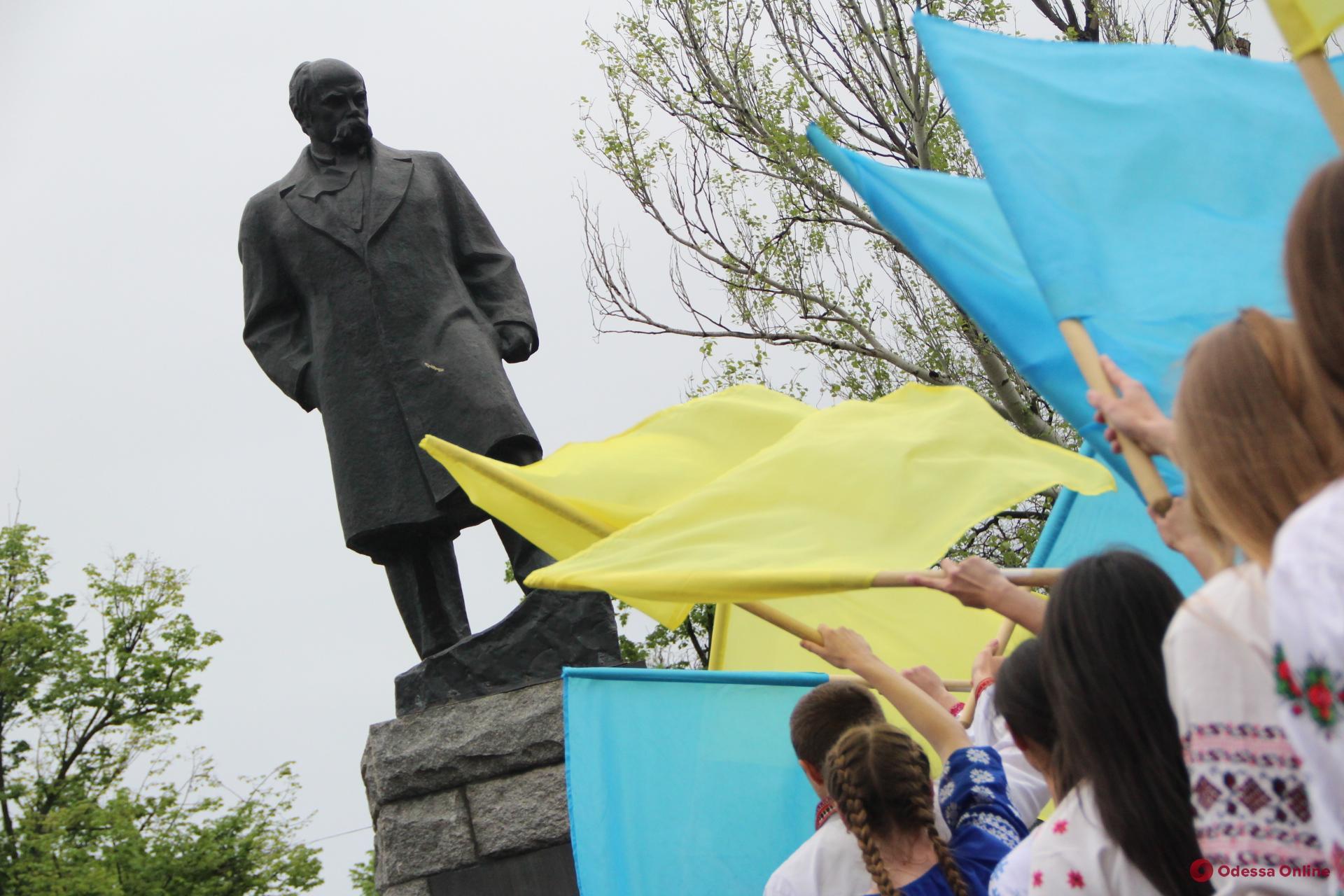 Курсанты Одесского ГУВД устроили марш по случаю Дня вышиванки (фото, видео)