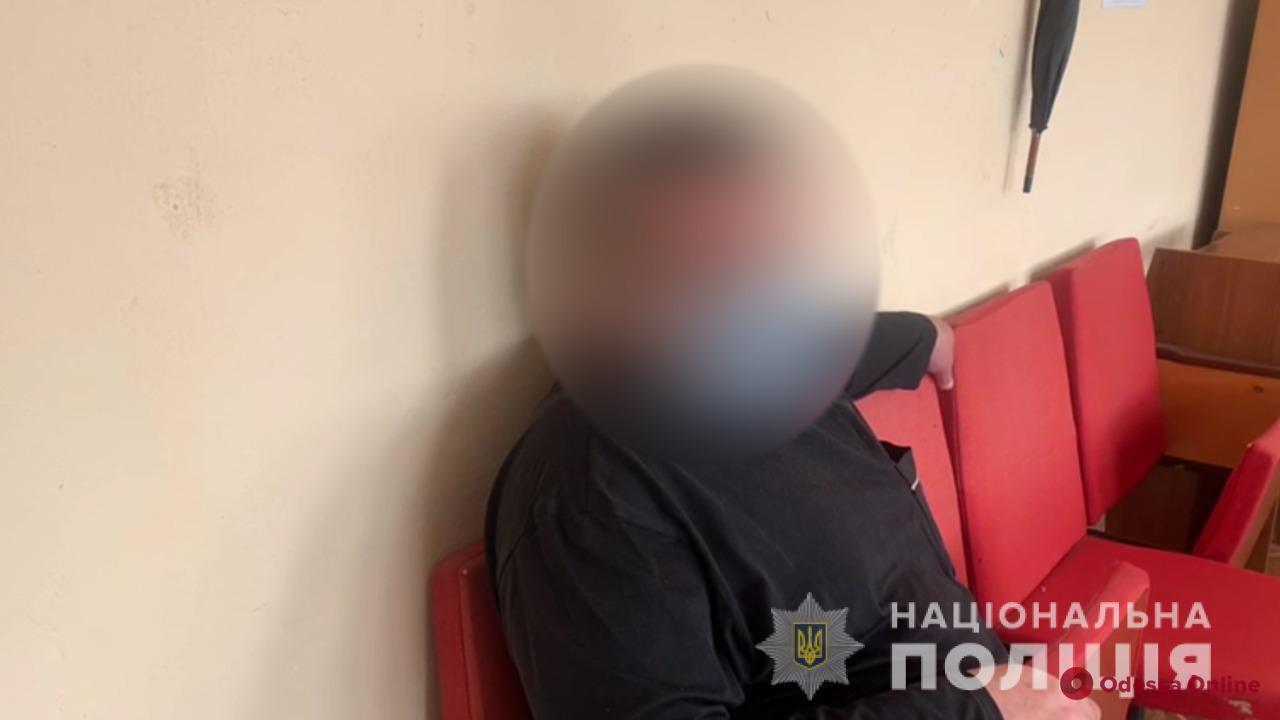 В Измаиле мужчина предлагал полицейскому взятку за закрытие дела о наркотиках