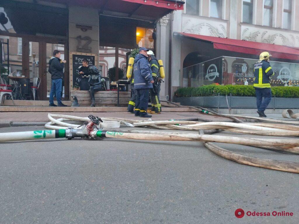 В центре Одессы горит «Щастье» (обновлено)