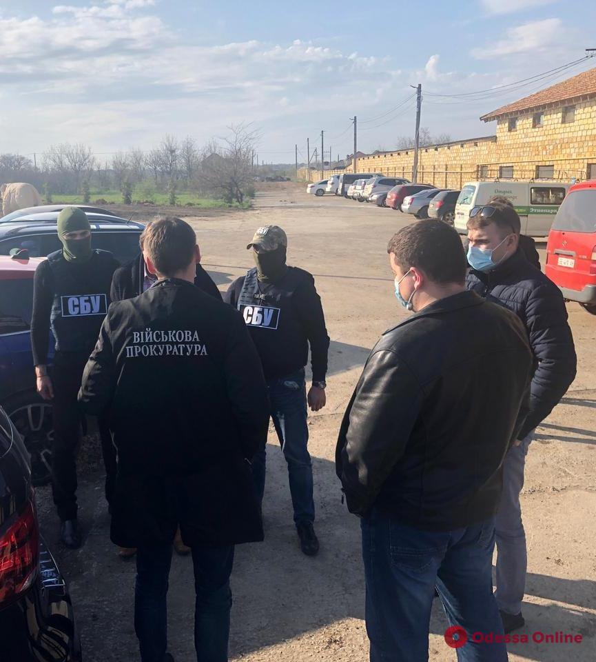 И.о. начальника одесского филиала концерна «Военторгсервис» поймали на взятке
