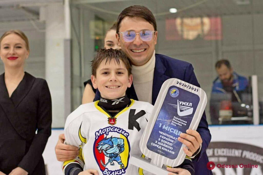 Одесские «Морские волки» – победители Украинской молодежной хоккейной лиги