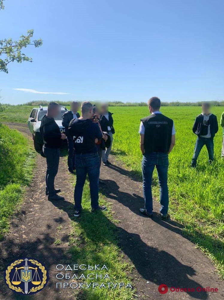 В Одесской области полицейский попался на взятке