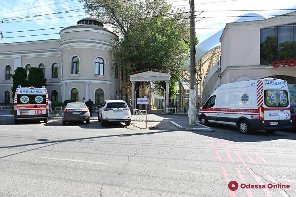В Одессе открыли центр вакцинации (фото)