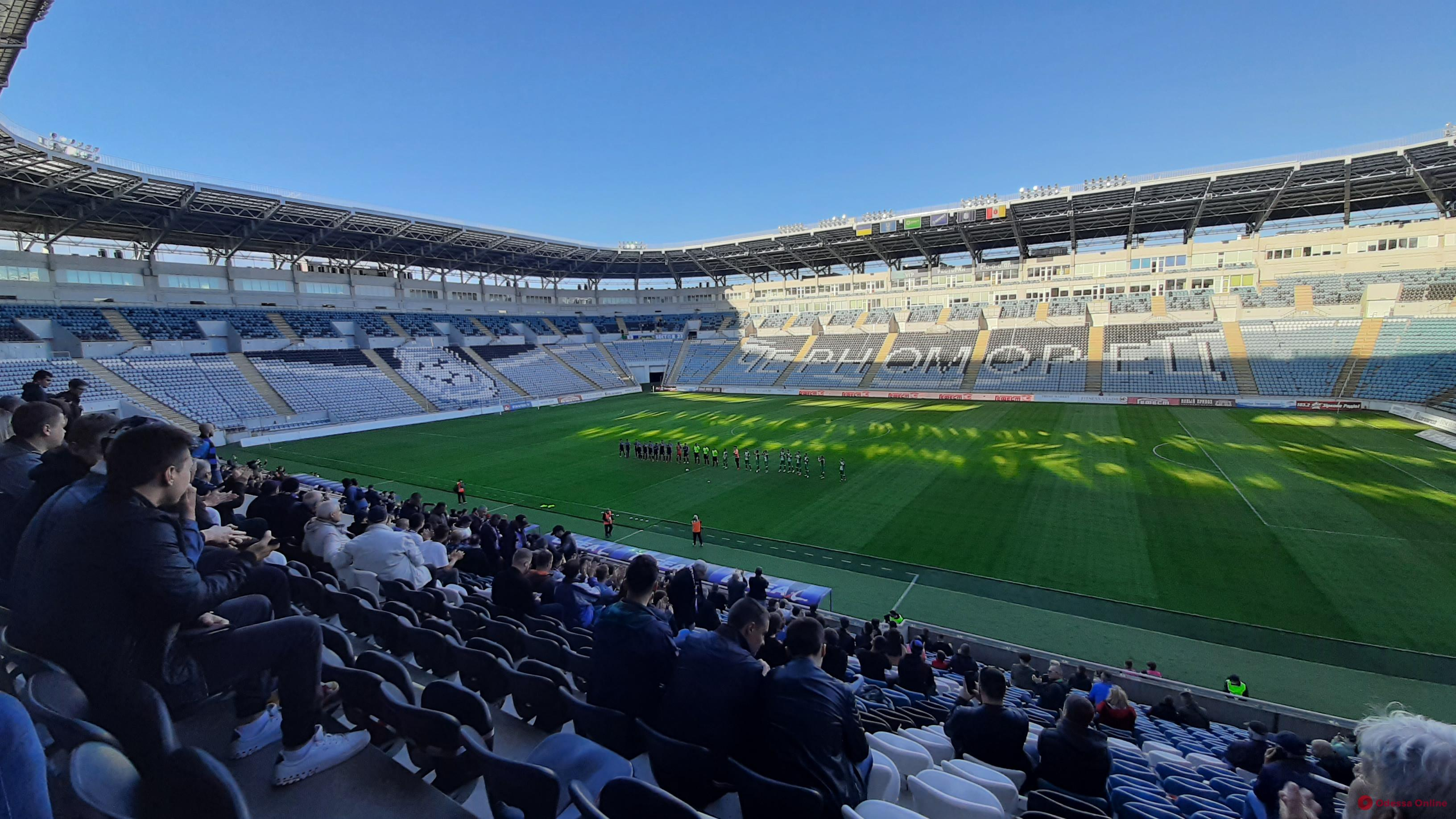 Футбол: одесский «Черноморец» разгромил на своем поле гостей из Херсона
