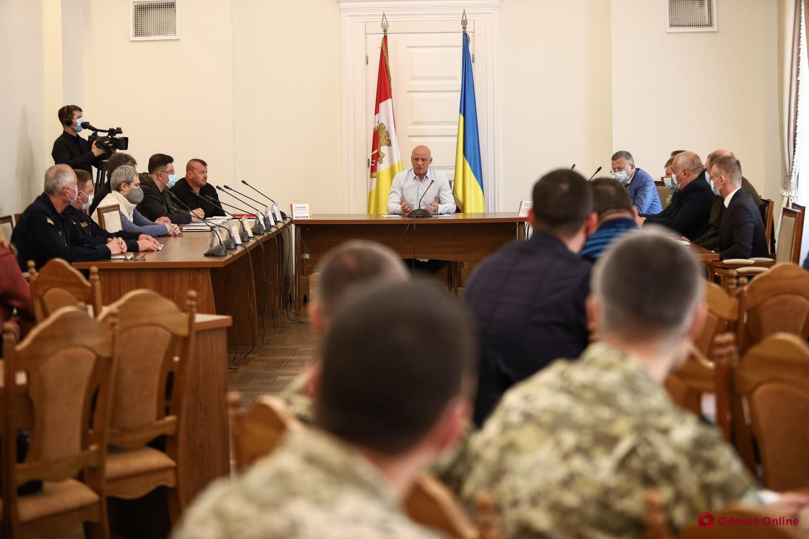 Геннадий Труханов провел совещание по повышению уровня безопасности в городе