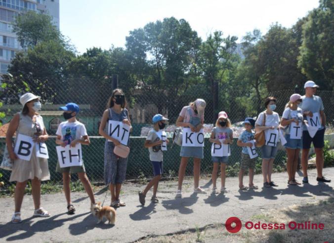 Суд остановил строительство на месте теннисных кортов у парка Шевченко