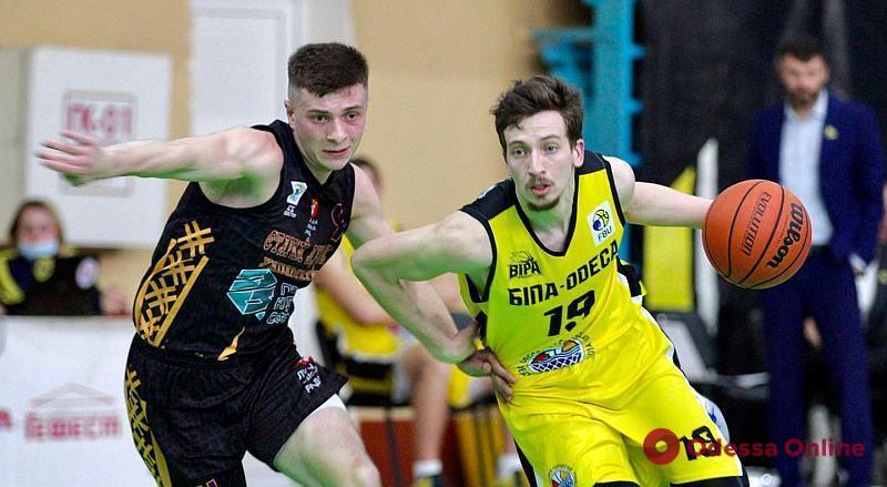 Баскетбол: одесская «БИПА» – в шаге от финала высшей лиги