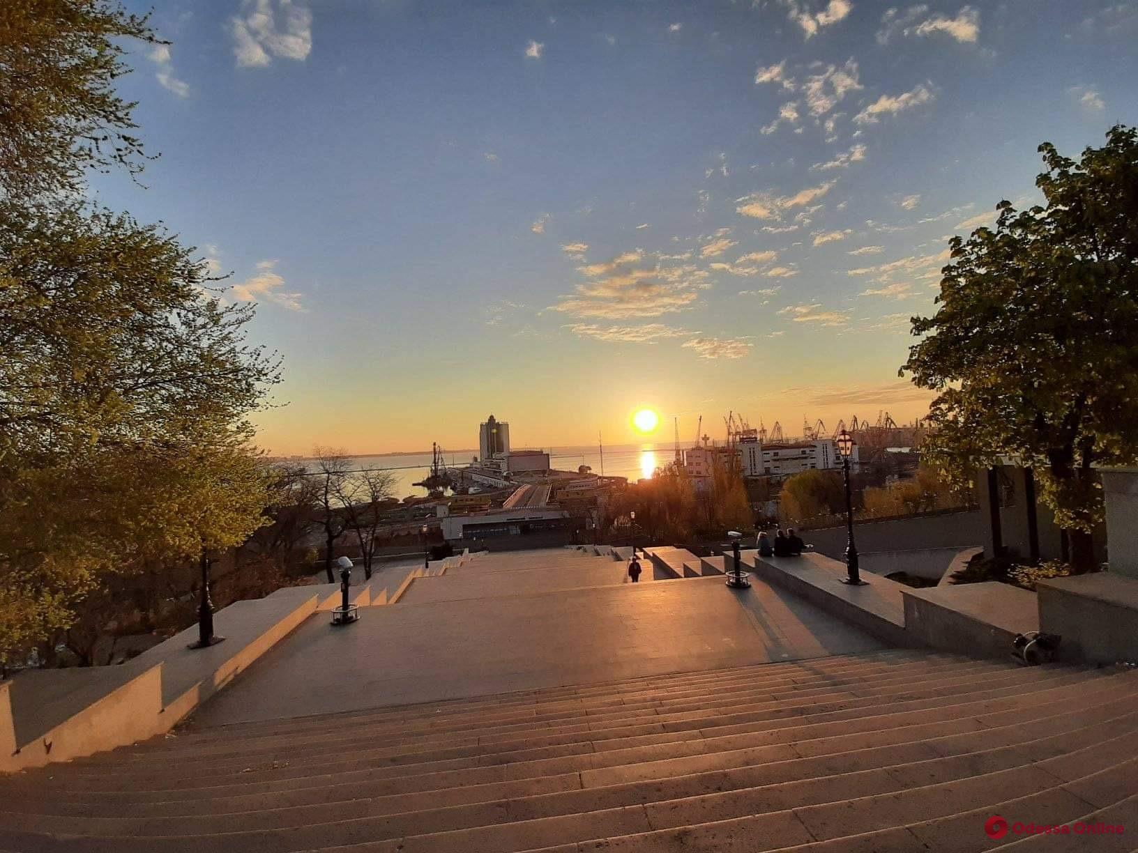 Раннее утро в Одессе (фото)
