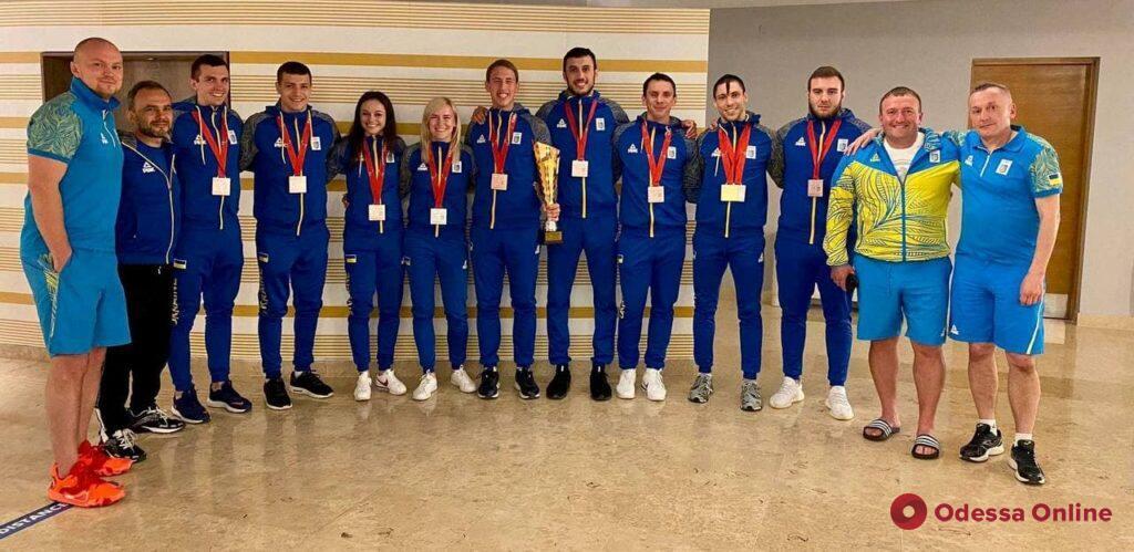 Каратистка из Черноморска завоевала десятую медаль чемпионата Европы
