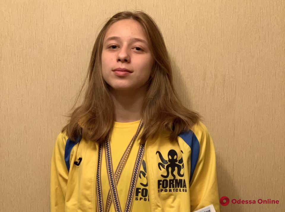 Одесские пловцы на двоих завоевали шесть медалей международного турнира