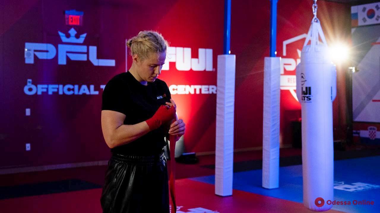 ММА: бой одесситки Колесник в США можно будет увидеть на украинском телеканале