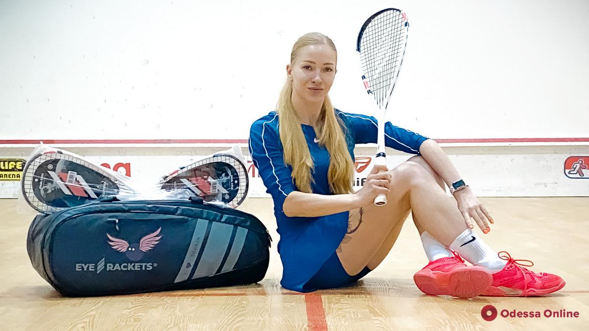 Одесситка выиграла крупный турнир по сквошу