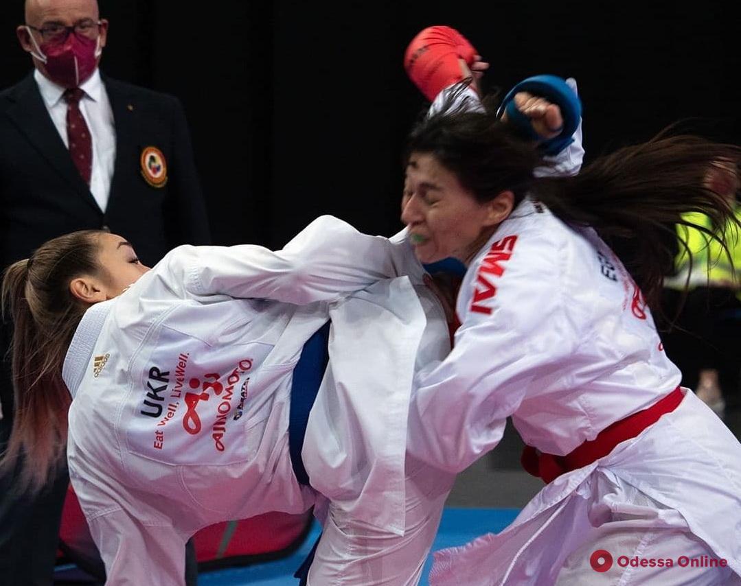 Одесская каратистка завоевала «золото» международного турнира