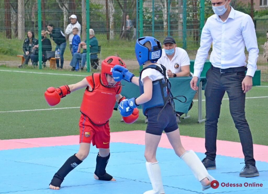 Юные одесситы блестяще выступили в Открытом Кубке Херсонской области по контактному ушу