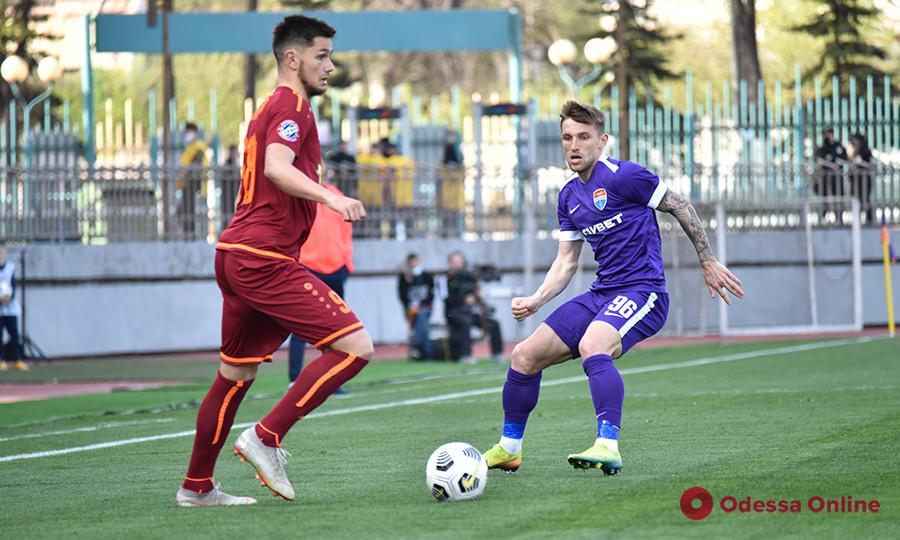 Пасхальные голы: футболисты из Одесской области помогли своим клубам победить в Премьер-лиге