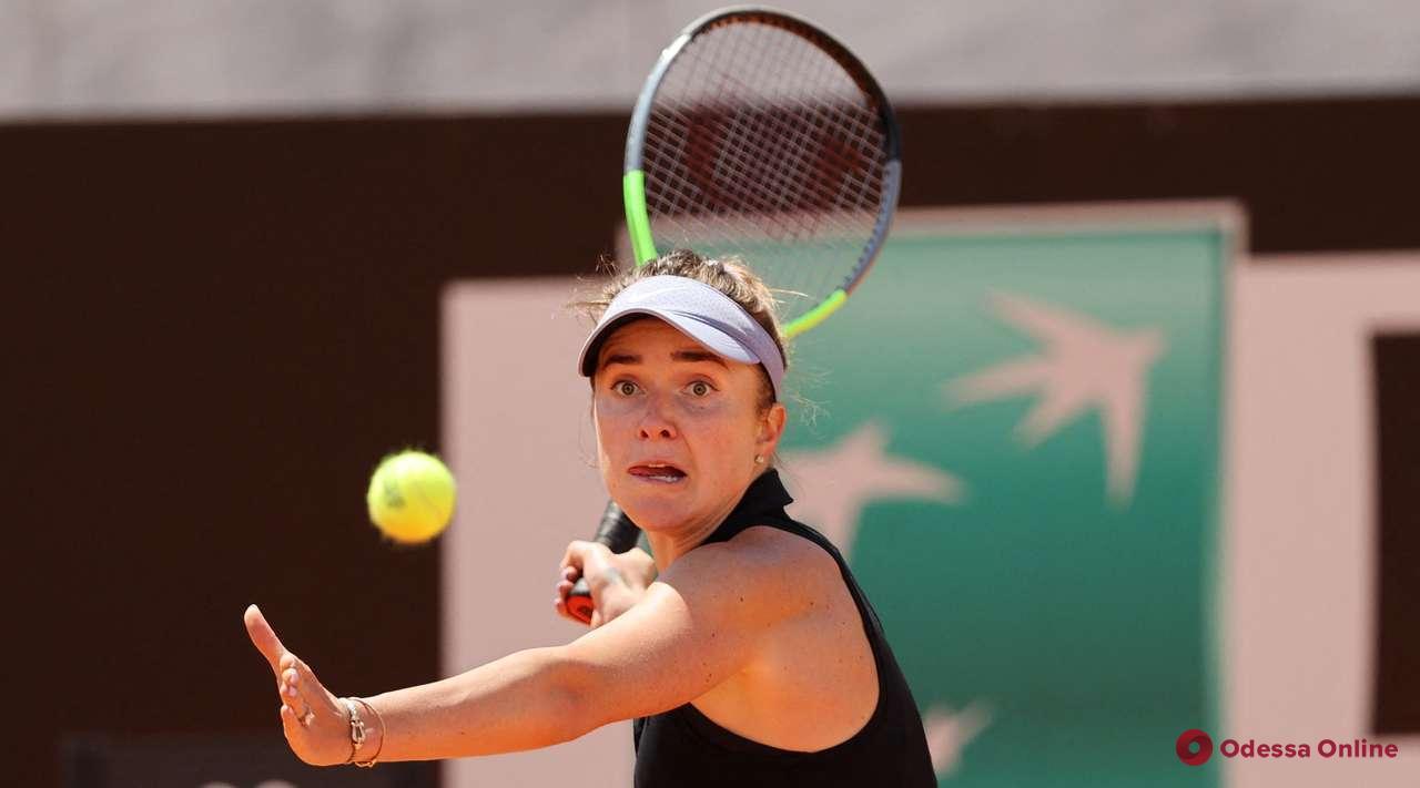 Одесская теннисистка не сумела выйти в полуфинал турнира в Риме