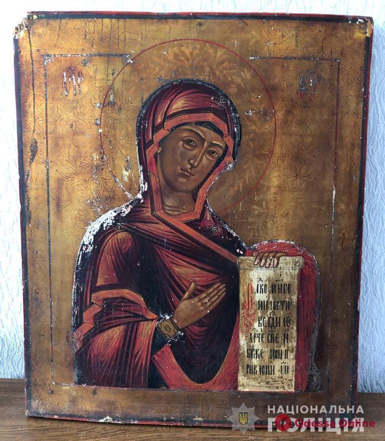 В Одесской области мужчина украл у односельчанина ценную икону
