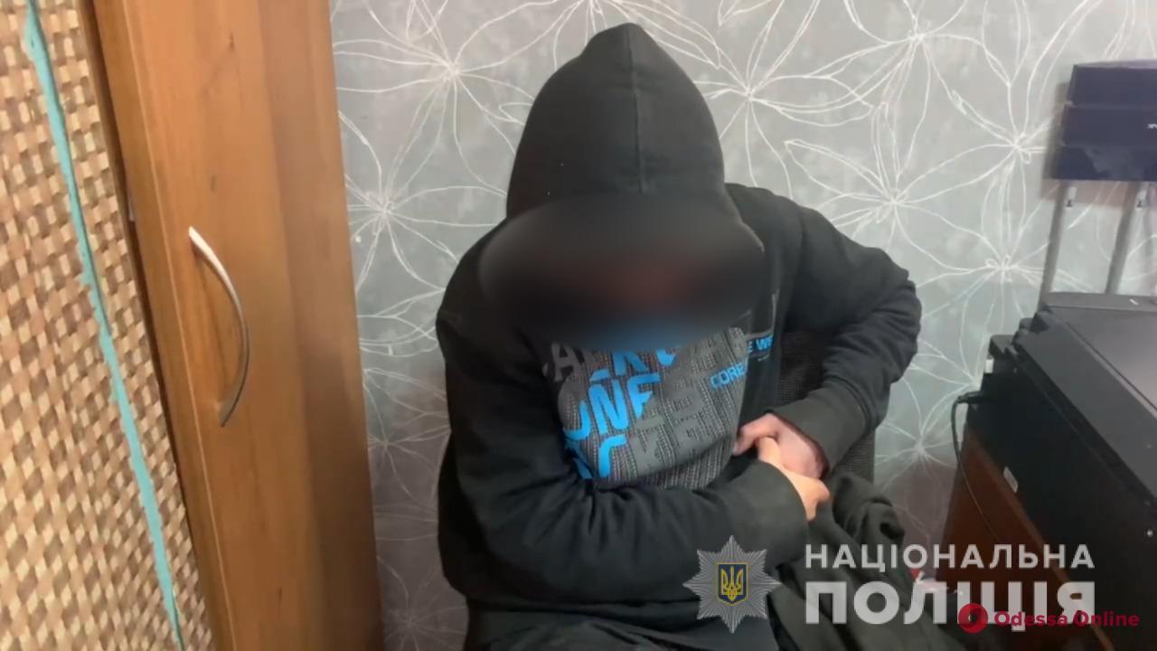 На поселке Котовского поймали закладчицу