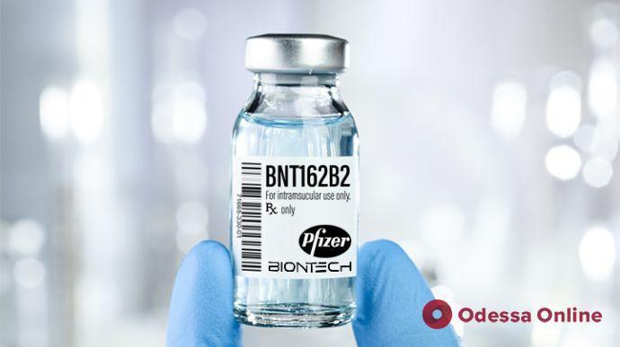 Украина дополнительно получит 10 миллионов доз вакцины Pfizer
