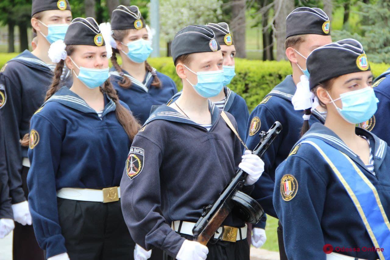 В Одессе возобновили Почетную Вахту Памяти (фото)