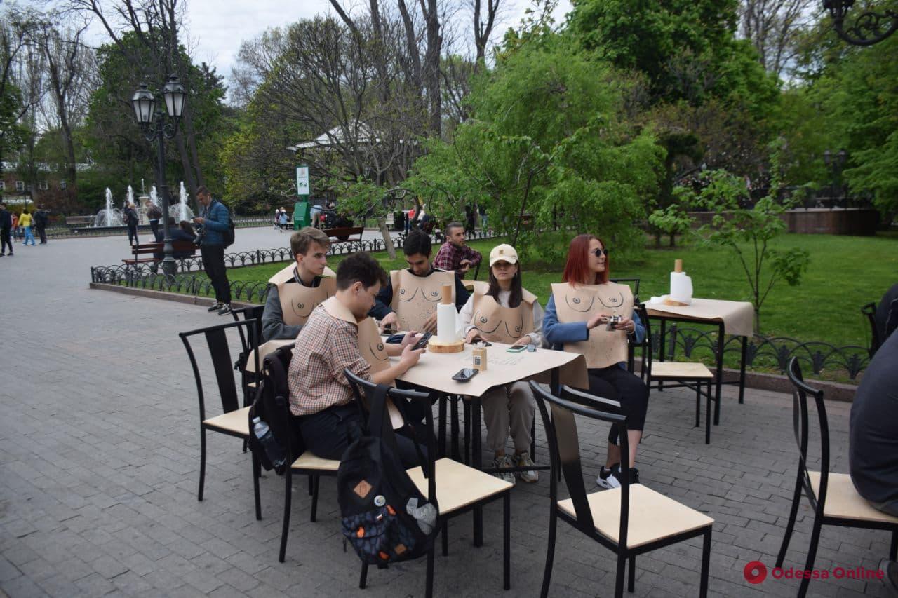 Скандал в «Реберне» на Дерибасовской: в ресторане провели лекцию по истории Одессы (фото)