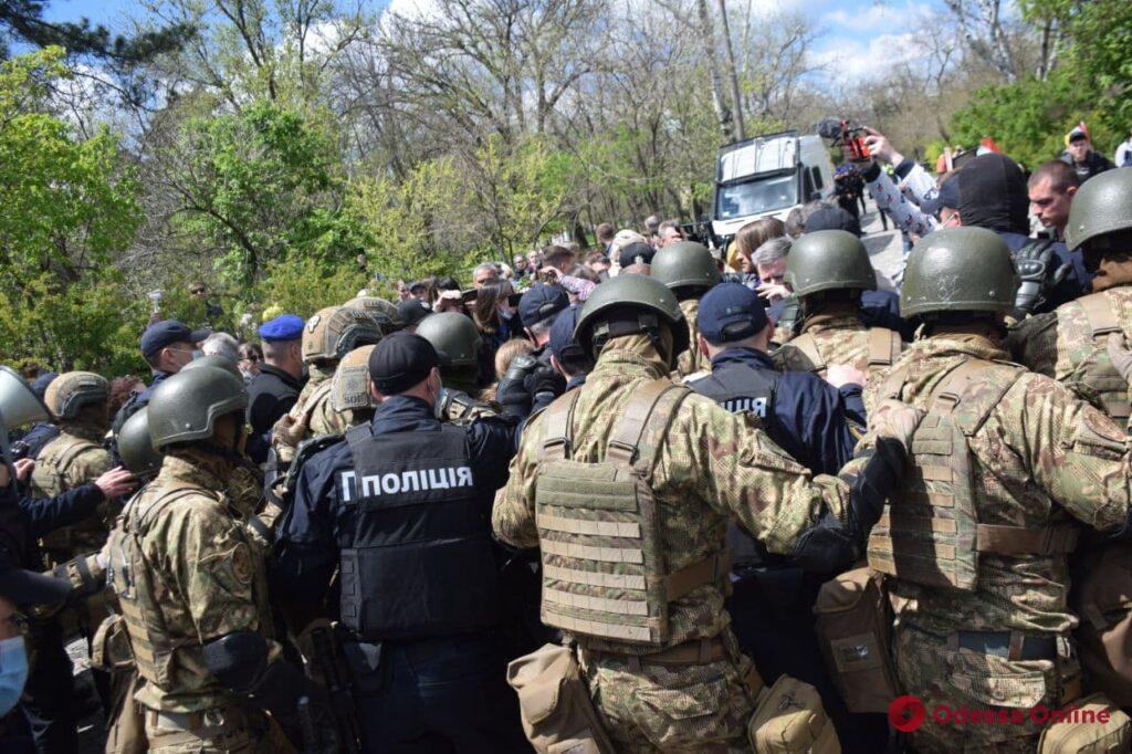 День Победы в Одессе: правоохранители составили 12 админпротоколов на девятерых нарушителей