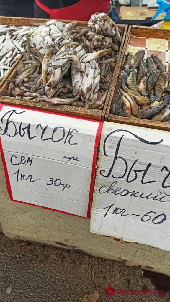 Клубника, сулугуни и креветки: воскресные цены на одесском «Привозе»