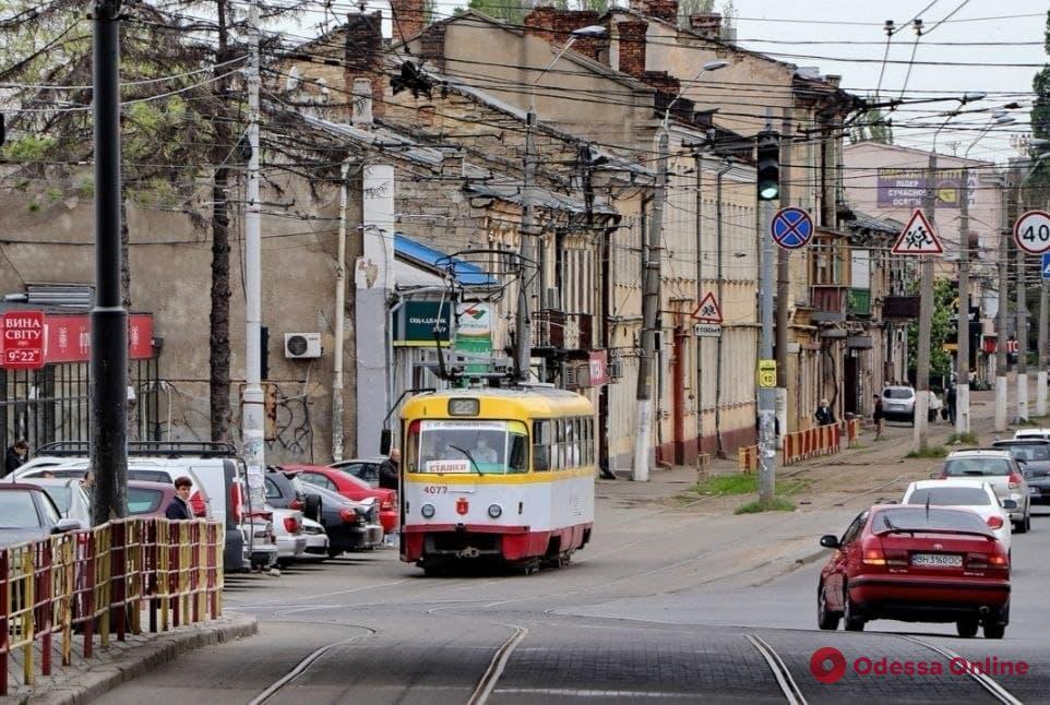 От Слободки до Лузановки: трамвай №22 снова выходит на маршрут