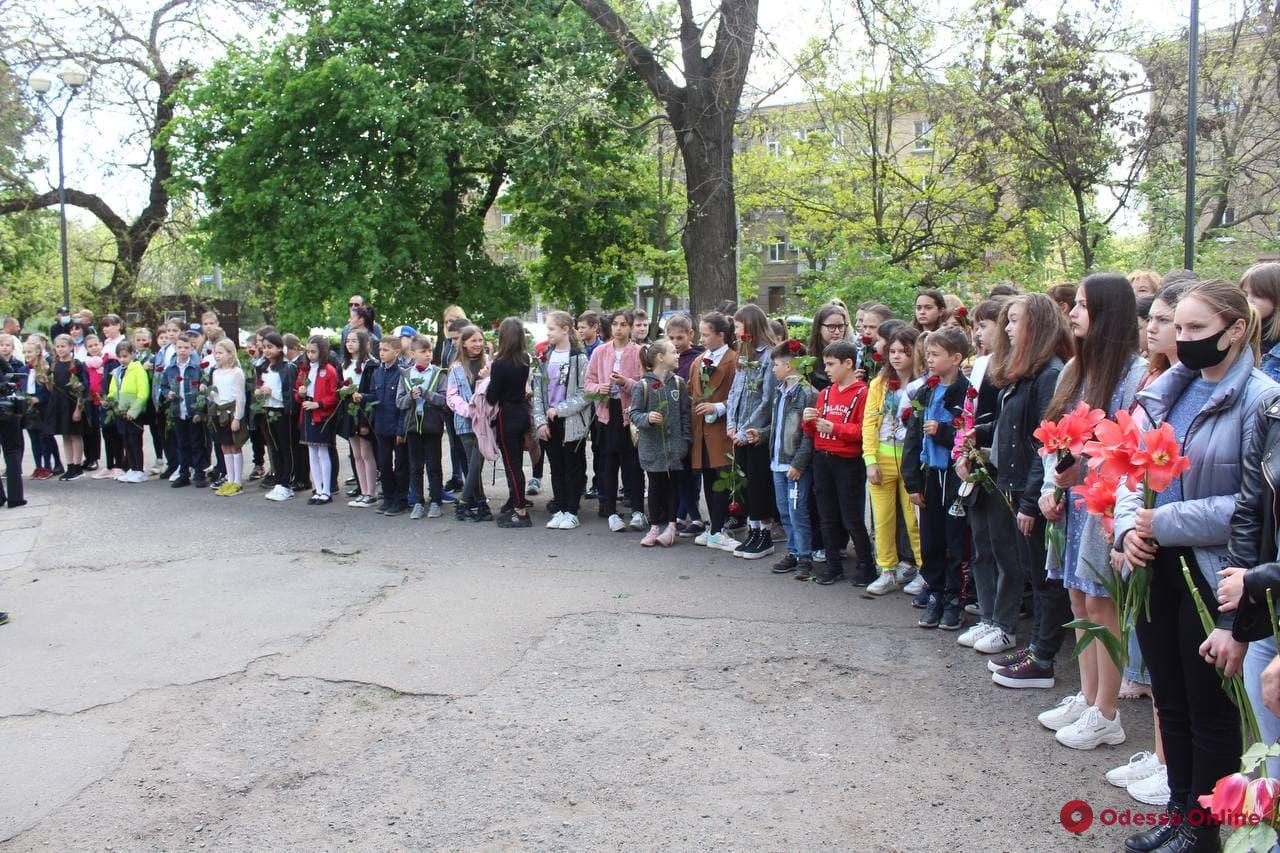 В Одессе впервые официально чествовали память украинцев, которые спасали евреев во время Холокоста