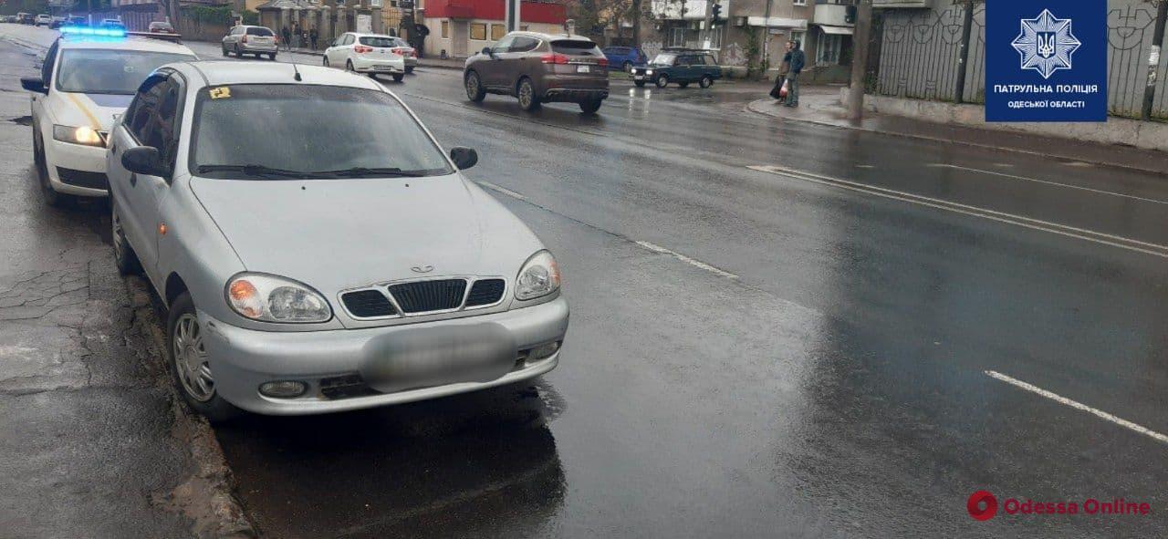 В Одессе на углу Среднефонтанской и Семинарской сбили пешехода