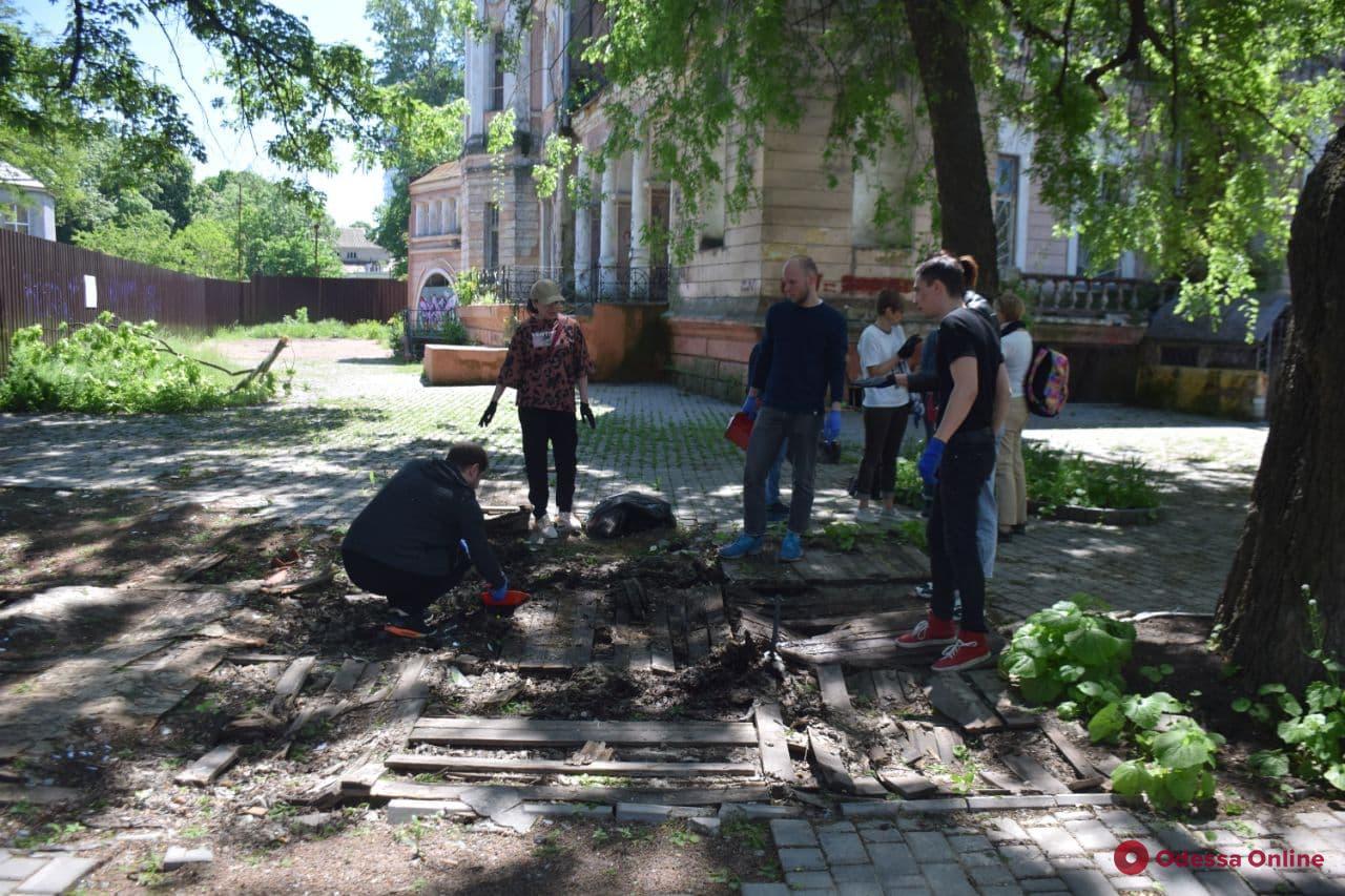 В Одессе на Даче Маразли активисты собрались устроить арт-перфоманс