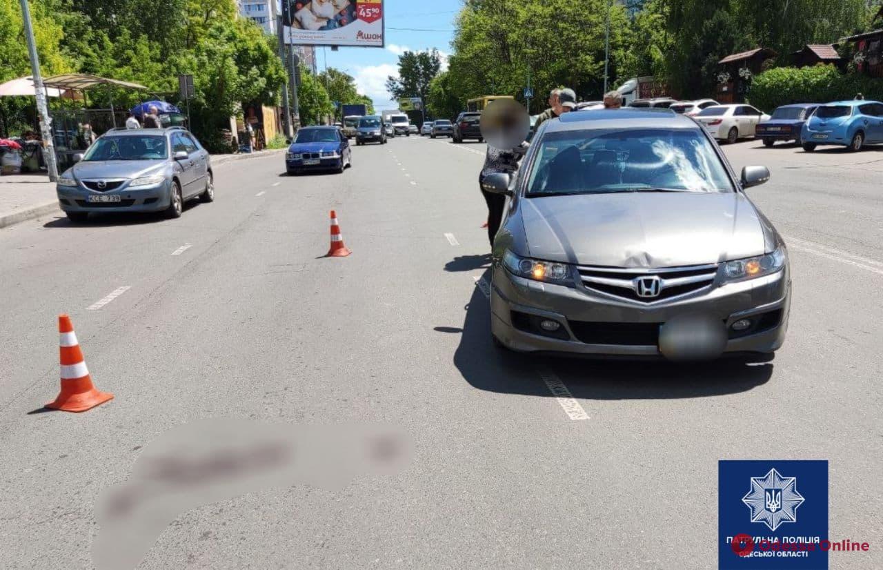 На поселке Котовского Honda сбила женщину