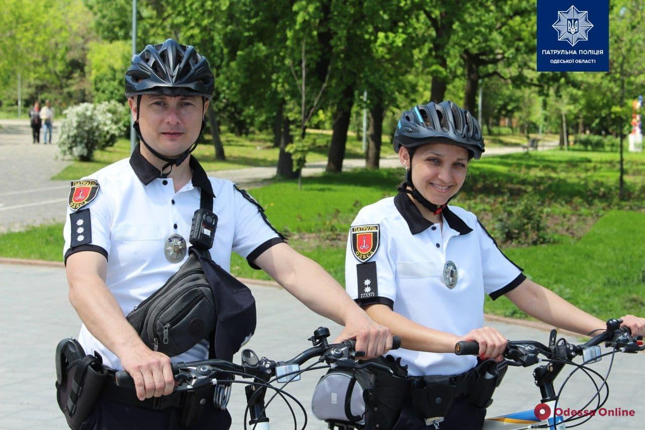 В Одессе снова заработал велопатруль