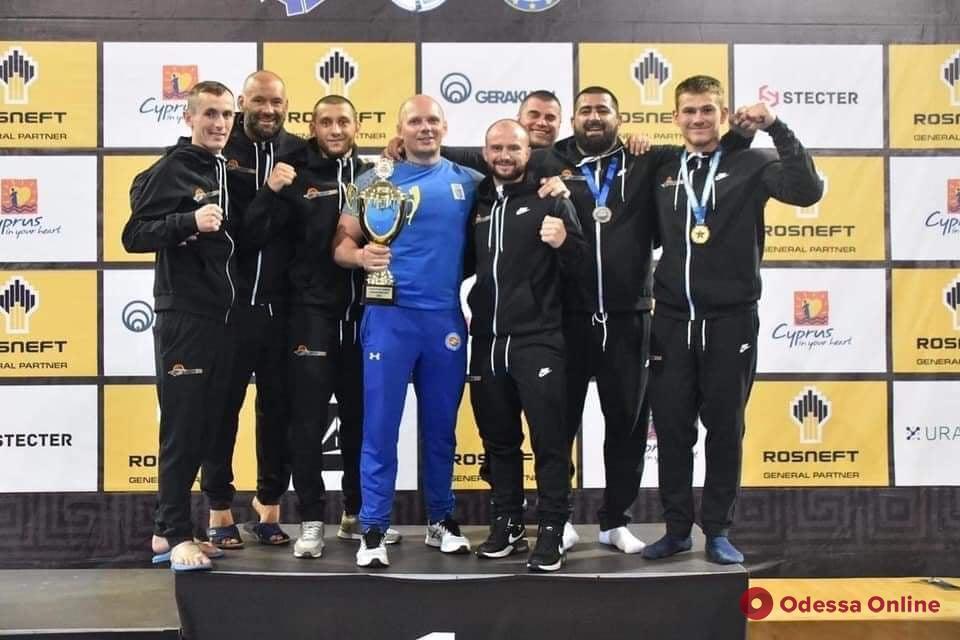 Одесситы завоевали три медали чемпионата Европы по самбо
