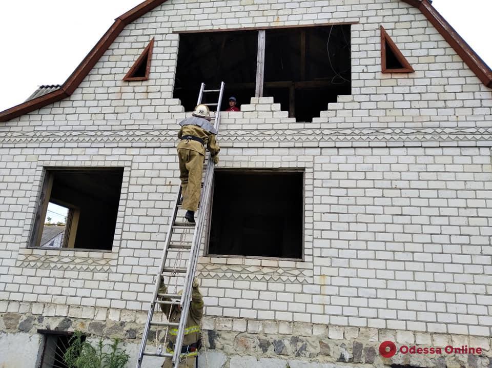 В Одесской области спасли застрявшего на крыше 11-летнего мальчика