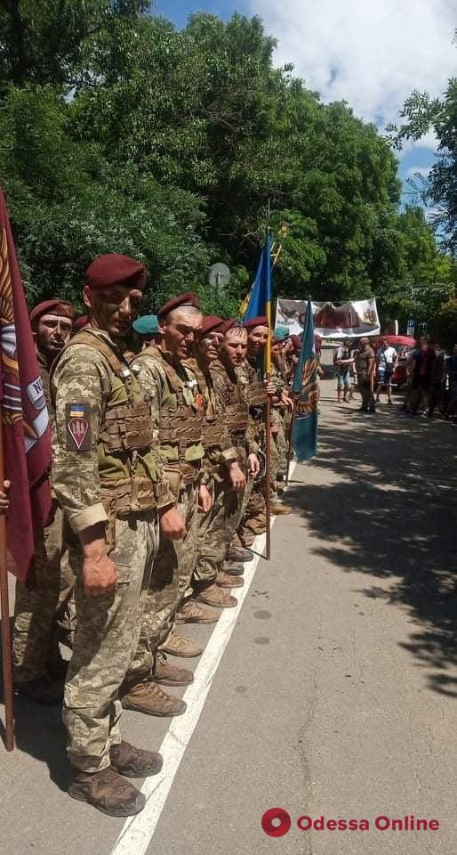 В Одессе состоялся пробег в память о погибшем в зоне АТО выпускнике Военной академии (фото, видео)